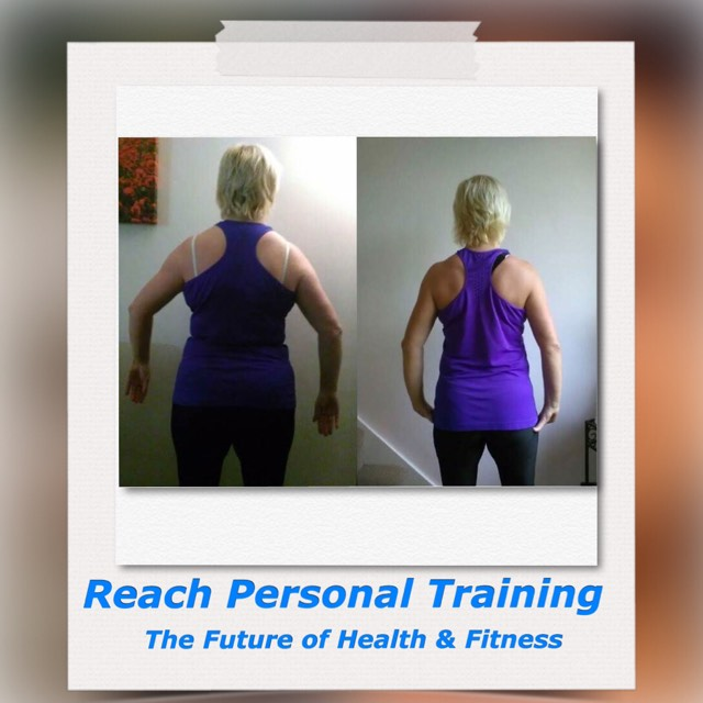 Personal Training Birstall Client Judy Back Picture