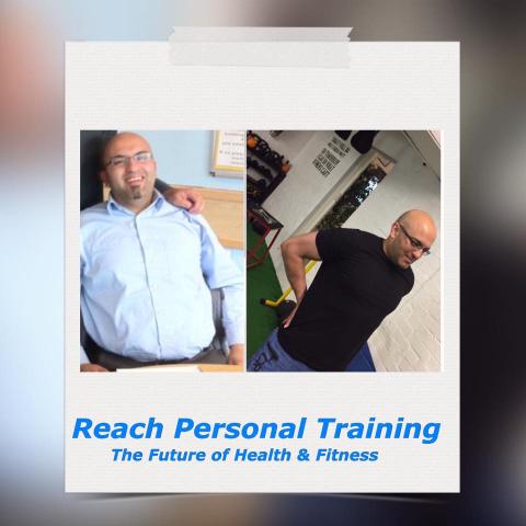 Personal Training Birstall Client Shahid