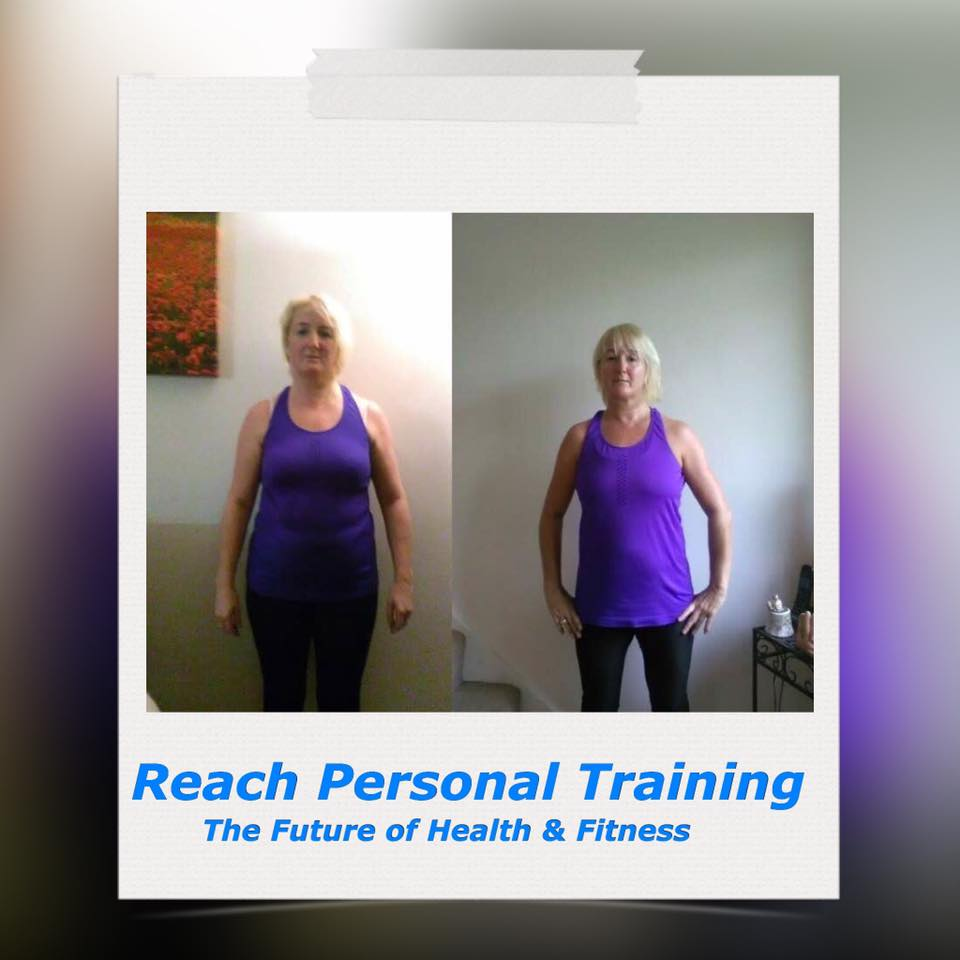 Personal Training Birstall Client Judy Front Picture